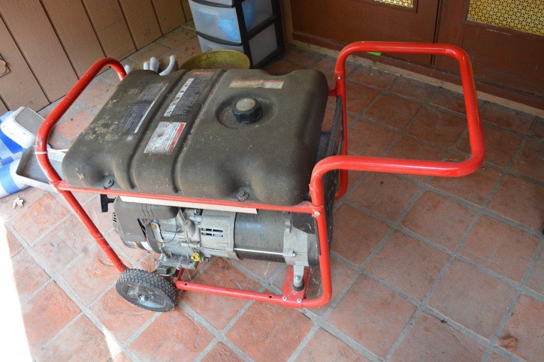 *Troy Bilt 5500 Watt Gas Generator