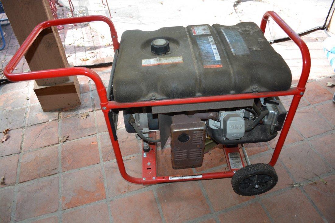 *Troy Bilt 5500 Watt Gas Generator - 3