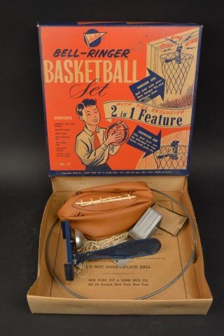 RARE Jr. Ace Bell Ringer Basketball Toy in Box