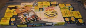 Aurora Stirling Moss Table Top Ho Scale Race Set