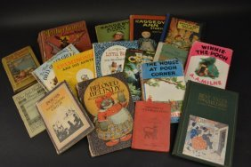 (17) Vintage Children's Books
