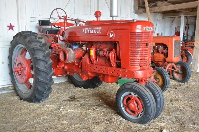 1940 McCormick Deering Farmall M Tractor