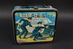 1972 Original Adam 12 Lunch Box W/ Thermos