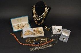 Designer Signed & Costume Jewelry