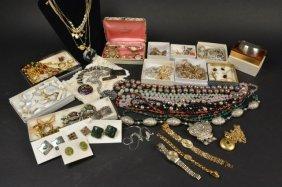 Large Lot Of Costume, Vintage & Designer Jewelry