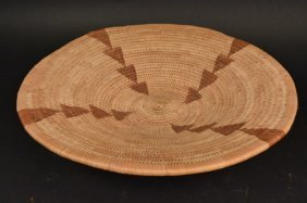 Hand Woven Indian Shallow Basket