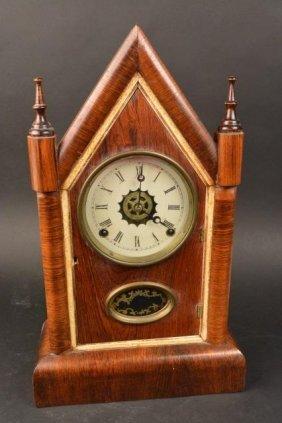 Gilbert Mafg. Co. Mantle Clock 8 Day 30 Hour