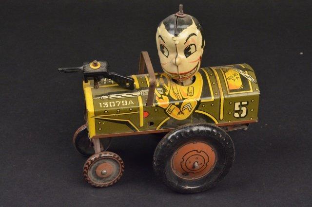 Marx Jolly Joe Tin Litho Wind-Up Toy
