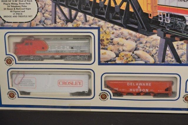 Bachmann Rail Blazer HO Scale Electric Train Set. - 2