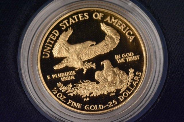 2002 One-Half Ounce $25 American Eagle Coin - 2