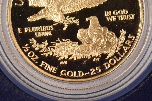 2002 One-Half Ounce $25 American Eagle Coin - 3