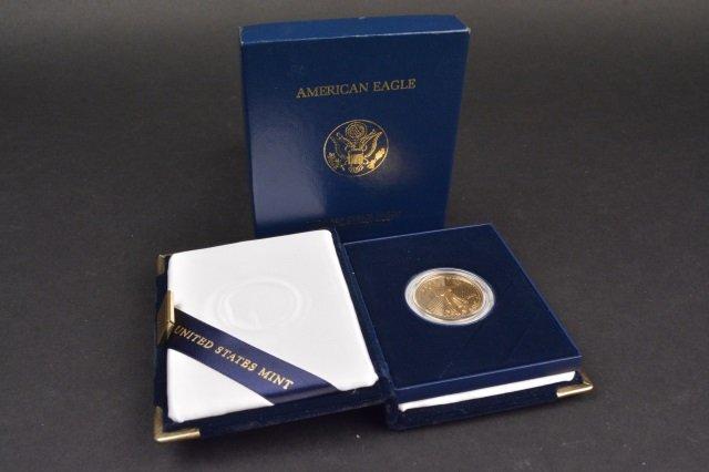2002 One-Half Ounce $25 American Eagle Coin - 4