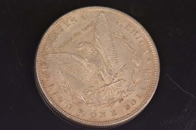 (7) Morgan Silver Dollars - 9