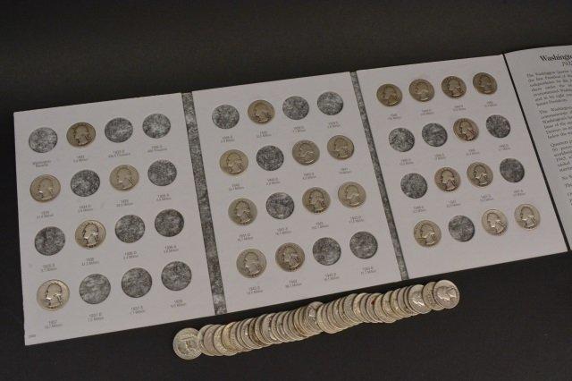 (60+/-) Silver Quarters