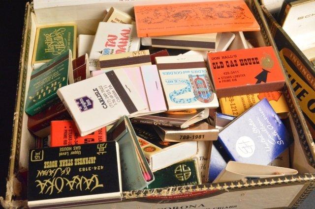 Tobacianna Advertising Match Books, Lighters - 2