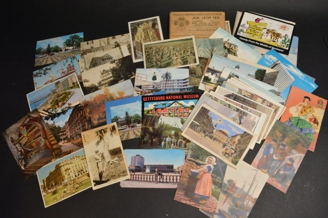 Unsorted Postcard Lot - Some Real Photo