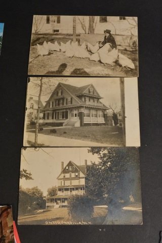 Unsorted Postcard Lot - Some Real Photo - 4