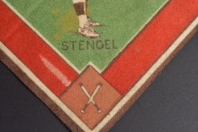 (28) Cigar Flags & Casey Stengel Baseball Player - 4