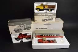 (3) First Gear Internationl 1:34 Diecast W/ Boxes
