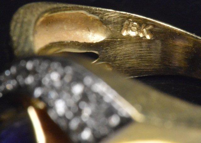 Ladie 18K Yellow Gold Ring - 3