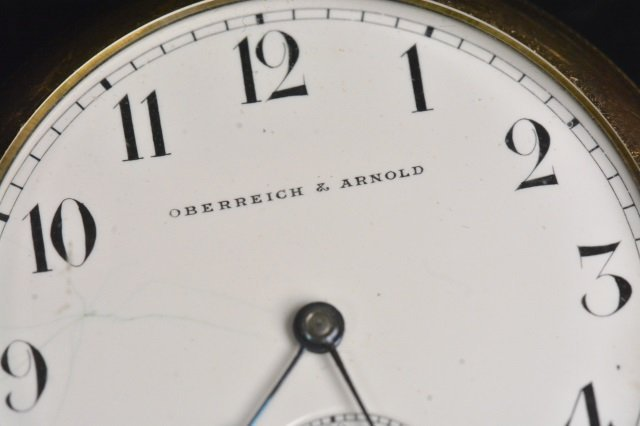 Oberreich & Arnold 15 Jewels Omega Watch Co. - 2