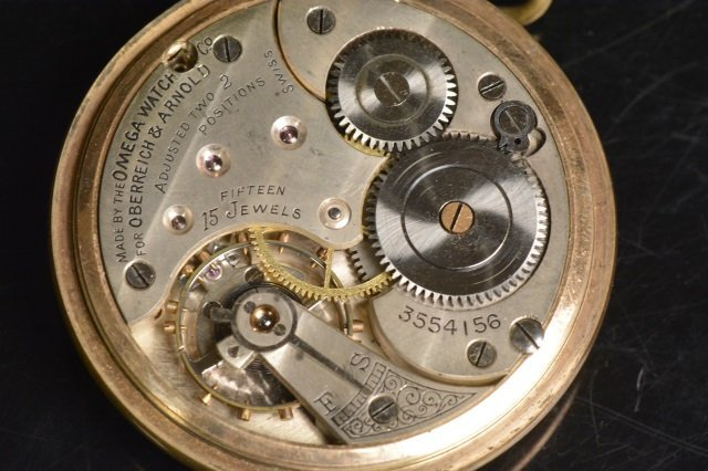 Oberreich & Arnold 15 Jewels Omega Watch Co. - 3