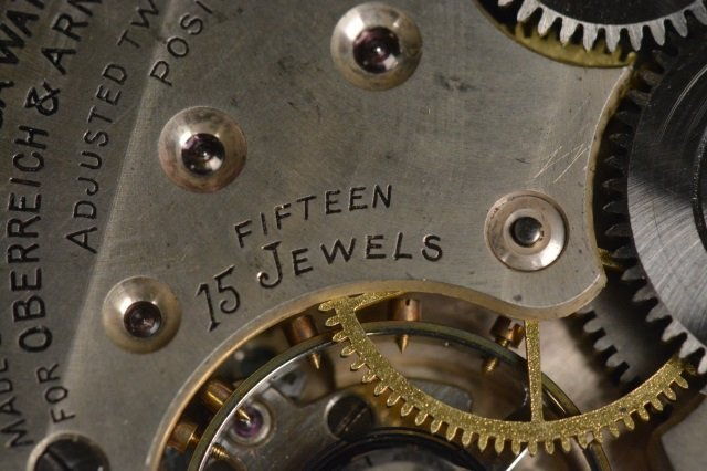 Oberreich & Arnold 15 Jewels Omega Watch Co. - 6