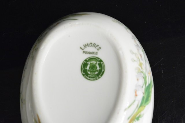 Limoges France & Mary M. Laughlin Porcelain Eggs - 6