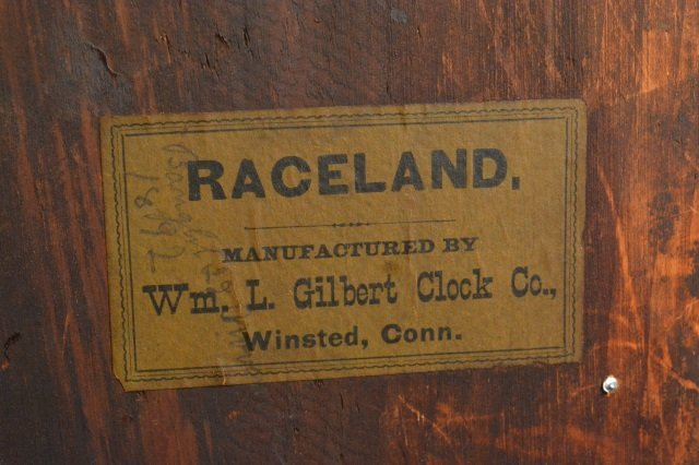 Gingerbread Wm. L. Gilbert Clock Co. Mantel Clock - 5