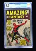 Amazing Fantasy #15 (Marvel Comics, 1962) CGC 7.0