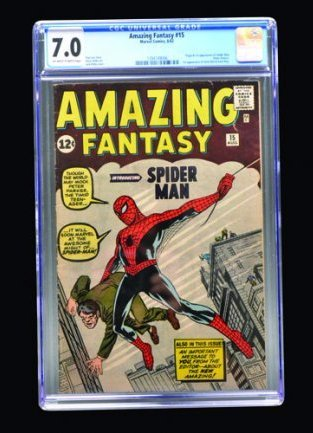 Amazing Fantasy #15 (Marvel Comics, 1962) CGC 7.0