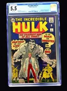 Incredible Hulk #1 (Marvel Comics, 1962) CGC 5.5