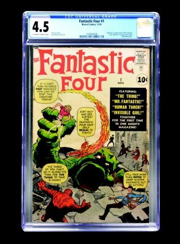 Fantastic Four #1 (MC, 1961) CGC 4.5