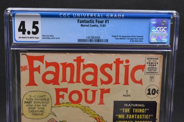 Fantastic Four #1 (MC, 1961) CGC 4.5 - 3