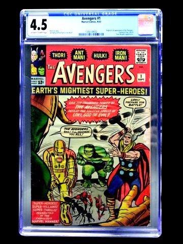 Avengers #1 (Marvel Comics, 1963) CGC 4.5