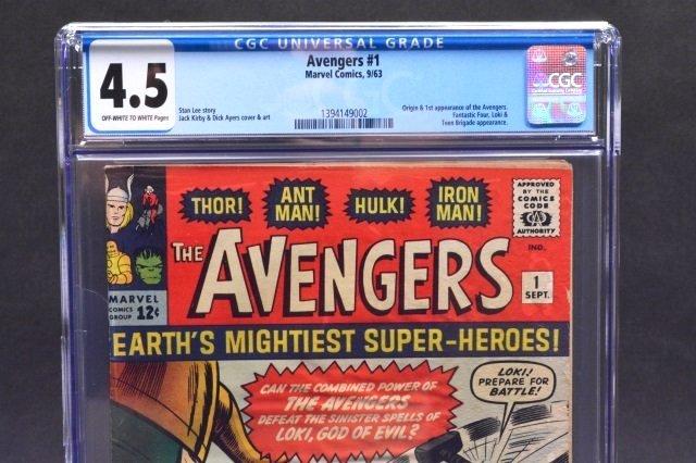 Avengers #1 (Marvel Comics, 1963) CGC 4.5 - 3