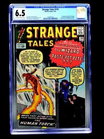 Strange Tales #110 (Marvel Comics, 1963) CGC 6.5