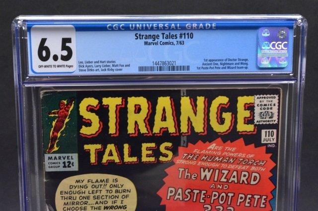 Strange Tales #110 (Marvel Comics, 1963) CGC 6.5 - 3
