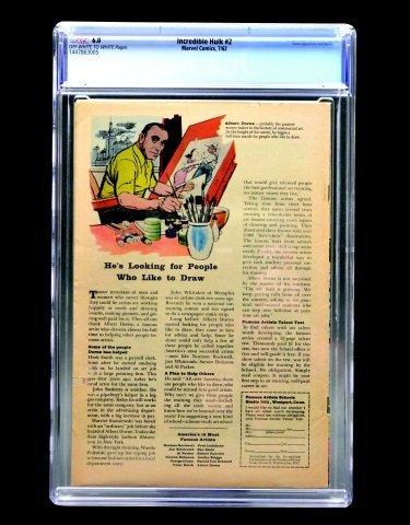 Incredible Hulk #2 (Marvel Comics, 1962) CGC 6.0 - 2