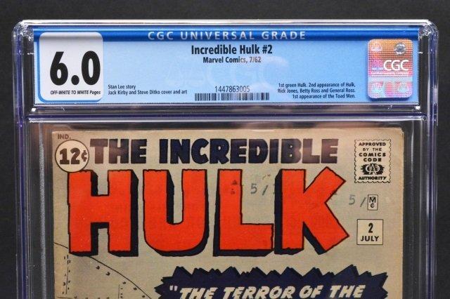 Incredible Hulk #2 (Marvel Comics, 1962) CGC 6.0 - 3