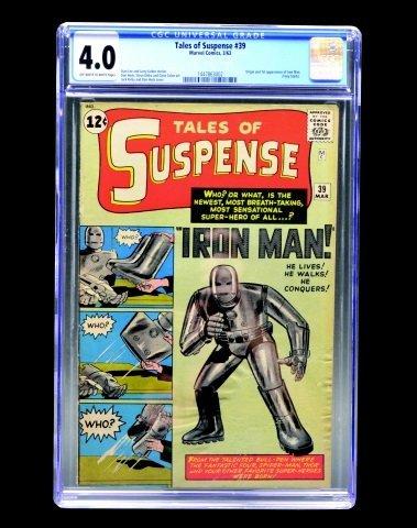 Tales of Suspense #39 (MC, 1963) CGC 4.0