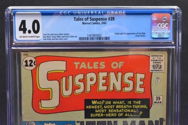 Tales of Suspense #39 (MC, 1963) CGC 4.0 - 3