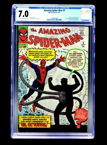 Amazing Spider-Man #3 (MC, 1963) CGC 7.0