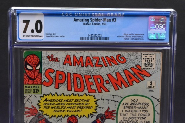 Amazing Spider-Man #3 (MC, 1963) CGC 7.0 - 3