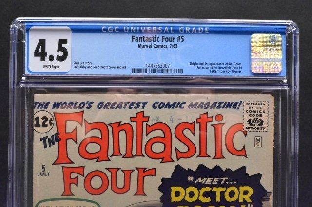 Fantastic Four #5 (Marvel Comics, 1962) CGC 4.5 - 3