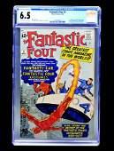Fantastic Four #3 (Marvel Comics, 1962) CGC 6.5