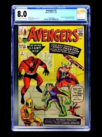 Avengers #2 (Marvel Comics, 1963) CGC 8.0