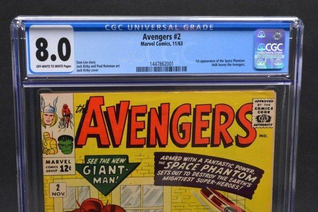 Avengers #2 (Marvel Comics, 1963) CGC 8.0 - 3