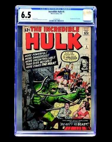Incredible Hulk #5 (Marvel Comics, 1963) CGC 6.5