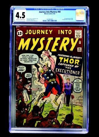 Journey Into Mystery #84 (MC, 1962) CGC 4.5